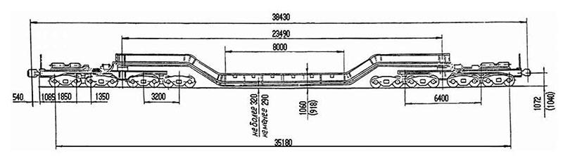 3901 транспортер 4 осный площадочный конвейера россии