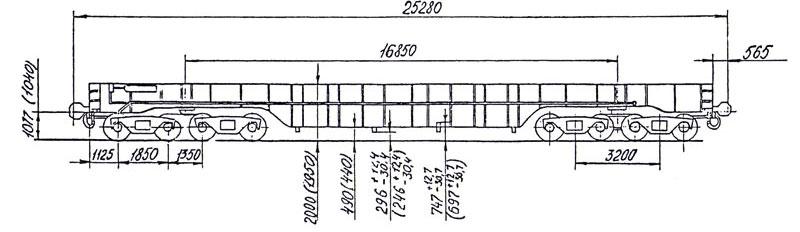 транспортер колодцевого типа 14 6062 тип 3941