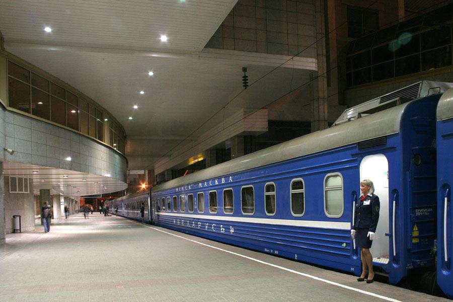 Расписание поездов по станции МинскПасс Отправление