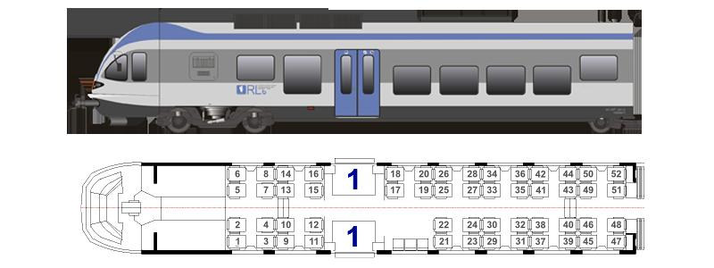 (схема расположения мест