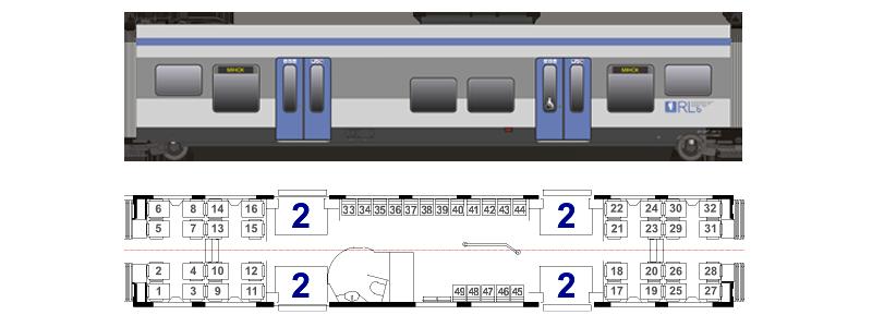 ЭПР (схема расположения