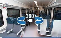 Схема вагонов поездов региональных линий бизнес класса